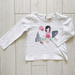 Bluza pentru fata Zara, 98 cm, 2-3 ani