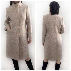Woolen demi-season coat Elis, size 46-48