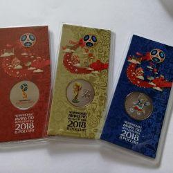 Commemorative Coins FIFA 2018 (set)