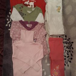 Package of clothes for girl