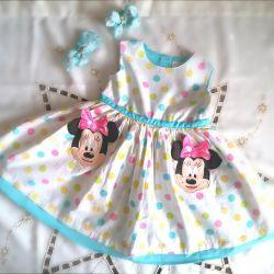Φόρεμα 80-86 cm (1.5-2g)