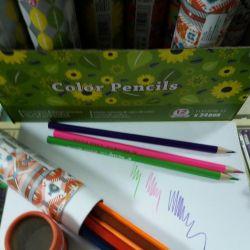 Colored pencils 12 color