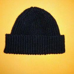 Handmade men's beanie cap
