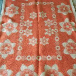 Одеяло 150*100 шерсть