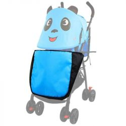 Cover in the stroller with legs
