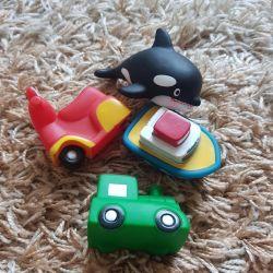 Banyo için çocuk oyuncakları