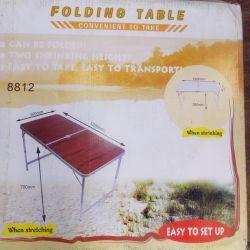 Hiking table