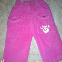 Pants for spring, from 6-12 months