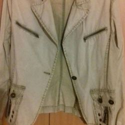 Kısaltılmış ceket.