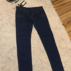 New jeans with a belt, 29 size
