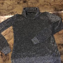 Легкий свитерок -хомут 44-46 размер