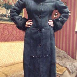 Sheepskin coat