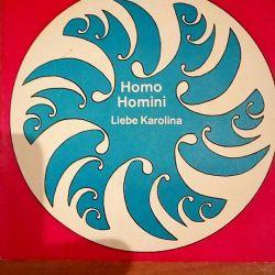 Vinyl record Homo Homini.TOBIE KAROLINO.