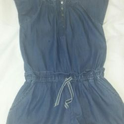 Denim new overalls for height 134