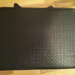 Folder leather