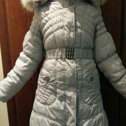 Χειμερινό παλτό για κορίτσια 10-12 ετών