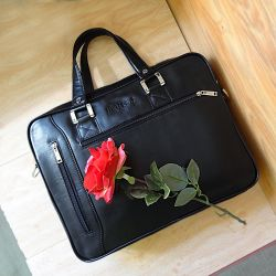 Кожаная мужская сумка. Россия