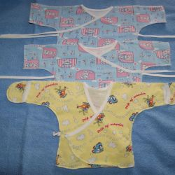 Things for the baby (plowed., Body, sliders, etc.)