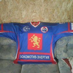 Свитер игрока Локомотив Энергия