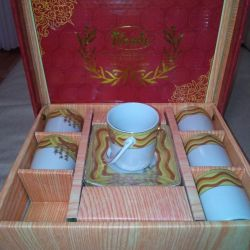 Σετ καφέ Urabi χρυσό συλλογή