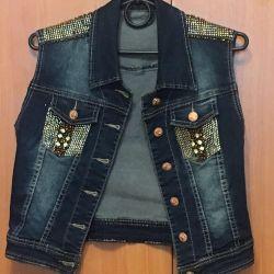 Jeans vestă Italia