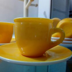 Кофейные чашки и блюдца 6 шт.