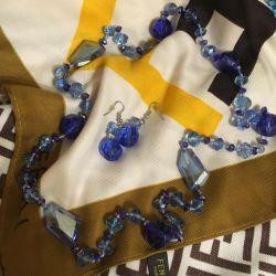 Jewelry (beads + earrings)