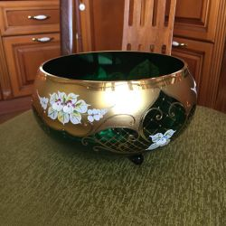 Bohemia Czech Republic Vase ? New !!