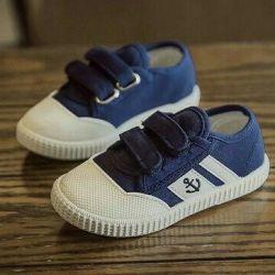 Κομψά πάνινα παπούτσια πάνινα παπούτσια νέα