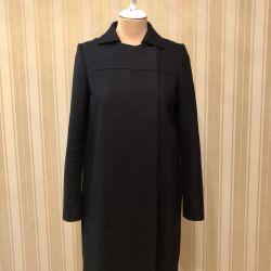 Massimo Dutti Coat, 100% Wool