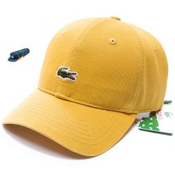 Lacoste Baseball Cap (Mustard)