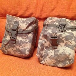 Pouches for 200 rounds. (Cartridges) Оригинал.US.