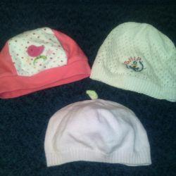 bebek için şapkalar