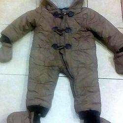 Winter jumpsuit Gee Jay 6-12 months 74-80cm