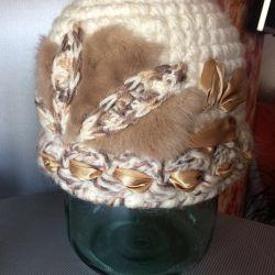 Bayan örme şapka