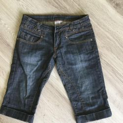 Women's denim breeches