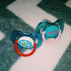 Avent soothers, almost new