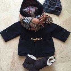 Coat Zarababy 12-18 μήνες.