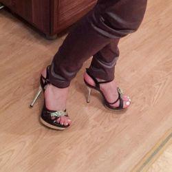 Sandalet 35, topuk 12 cm