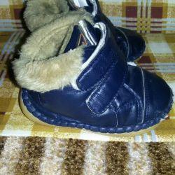 Selling booties boots for fur company Drakosha