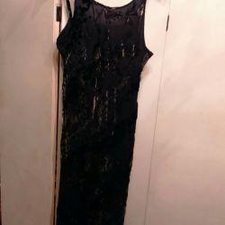Dress, new, on thin straps.p.48-50 Panbarhat