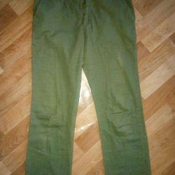 Pantaloni din bumbac subțiri (40-42)