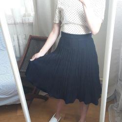 Skirt is warm