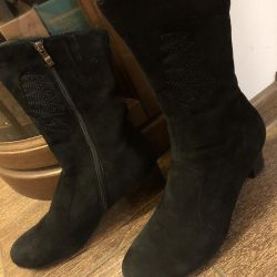 Boots nat. suede