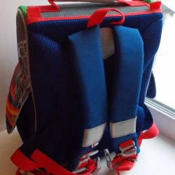 Backpack school multi-colored
