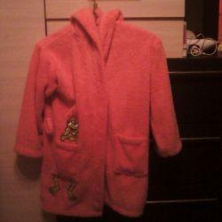 Bathrobe, Cape fur suit.