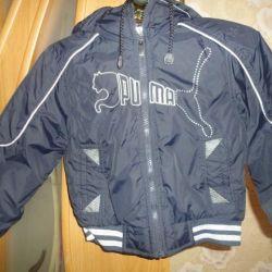 Курточка PUMA двухсторонняя новая на 2-4 года