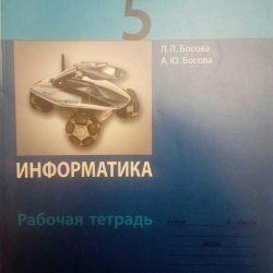 Iformatics 5 βιβλίο εργασίας κατηγορίας Bosova Binom Fg