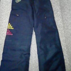 Pants on fleece