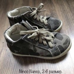 Ninco boots Nanco 24 r leather